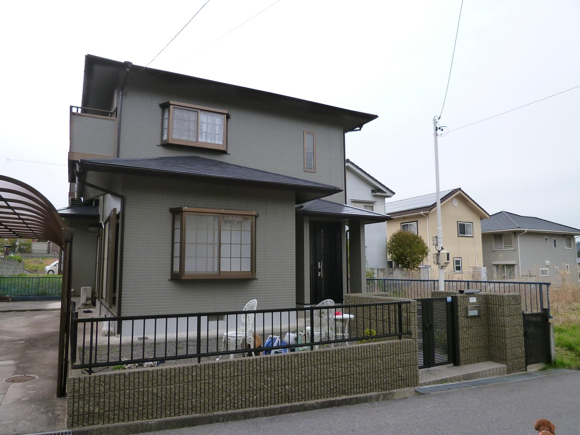 伊賀市 T様邸 一般住宅塗装工事